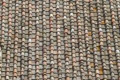 Het daktegels van Toscanië Stock Fotografie