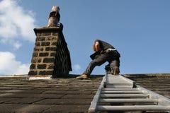 Het dakwerk van de lei Royalty-vrije Stock Fotografie