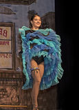 Het Dancehallmeisje onderhoudt Royalty-vrije Stock Fotografie