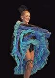 Het Dancehallmeisje onderhoudt Royalty-vrije Stock Afbeelding
