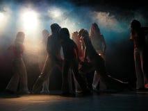 Het dansen Royalty-vrije Stock Afbeeldingen