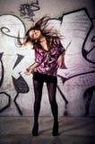 Het dansen! Stock Foto's