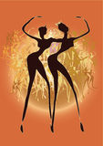 Het dansen Stock Fotografie