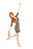 Het dansen Royalty-vrije Stock Fotografie