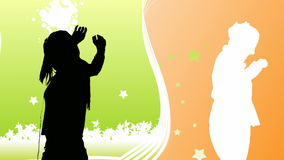 Het dansen Animatie 18 royalty-vrije illustratie