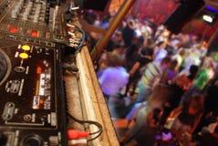 Het dansen in club stock foto
