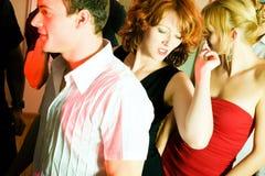 Het dansen in de disco royalty-vrije stock foto
