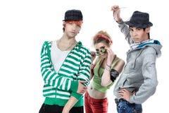 Het dansen de jeugd stock fotografie