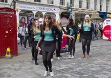 Het dansen in de Straat Royalty-vrije Stock Fotografie