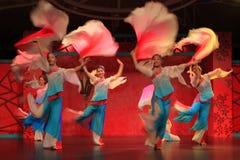 Het dansen: het oogstfestival royalty-vrije stock foto