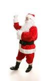 Het dansen Kerstman Royalty-vrije Stock Afbeeldingen