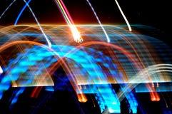 Het dansen lichten Stock Fotografie