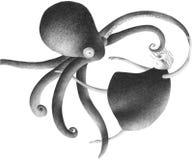 Het dansen octopus Stock Foto's