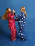 Het dansen tienerjaren Stock Fotografie