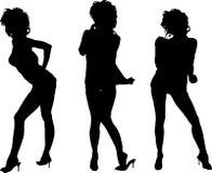 Het dansen van Cutie royalty-vrije illustratie