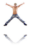 Het dansen van de danser dansen Stock Afbeeldingen