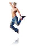 Het dansen van de danser dansen Stock Foto