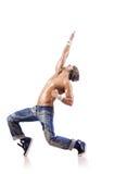 Het dansen van de danser dansen Royalty-vrije Stock Afbeelding