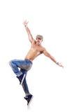 Het dansen van de danser dansen Stock Afbeelding