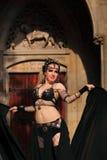 Het dansen van de vrouw Royalty-vrije Stock Foto's