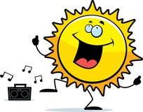 Het Dansen van de zon royalty-vrije illustratie