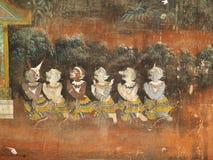 Het dansen van demonnen Royalty-vrije Stock Afbeeldingen