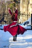 Het dansen van het meisje Stock Foto's