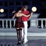 Het dansen van het paar Royalty-vrije Stock Foto's