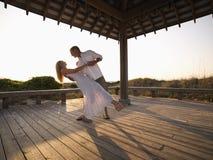 Het dansen van het paar. Royalty-vrije Stock Foto's