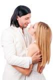 Het dansen van het paar dans Stock Fotografie