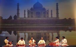Het dansen van India Royalty-vrije Stock Afbeelding