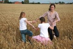 Het dansen van kinderen Royalty-vrije Stock Afbeelding