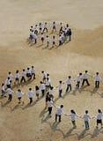 Het dansen van kinderen Royalty-vrije Stock Foto's