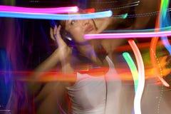 Het dansen van Liva Royalty-vrije Stock Foto's