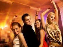 Het dansen van mensen Royalty-vrije Stock Afbeelding