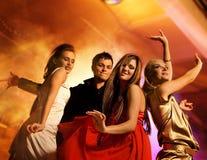 Het dansen van mensen Royalty-vrije Stock Foto