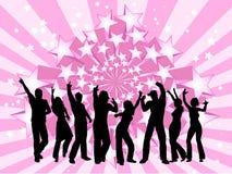 Het dansen van mensen vector illustratie
