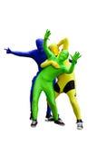 Het dansen van mensen Royalty-vrije Stock Fotografie