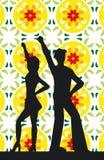 Het dansen van mensen Royalty-vrije Stock Foto's