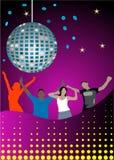 Het Dansen van tienerjaren Stock Foto