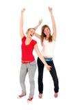 Het dansen van vrouwen Royalty-vrije Stock Fotografie