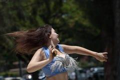 Het dansen voor Vreugde Royalty-vrije Stock Foto's