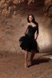 Het dansende meisje Stock Foto's
