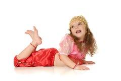 Het dansende meisje Royalty-vrije Stock Afbeelding