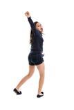 Het dansende meisje van Preteen Stock Afbeeldingen