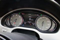 Het dashboard van Audi S8 Royalty-vrije Stock Afbeelding