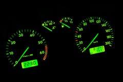 Het dashboard van de auto Royalty-vrije Stock Foto's