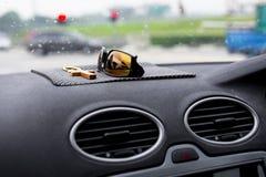 Het dashboard van de auto Stock Foto's