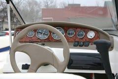 Het Dashboard van de Boot van de motor Stock Afbeelding