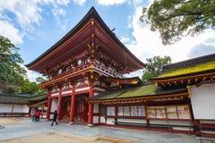 Het Dazaifu-heiligdom in Fukuoka, Japan royalty-vrije stock foto's